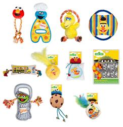 50th Anniversary Sesame Street Toy Package Deal