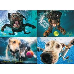Underwater Dog: Splash  - 1000 Piece Puzzle