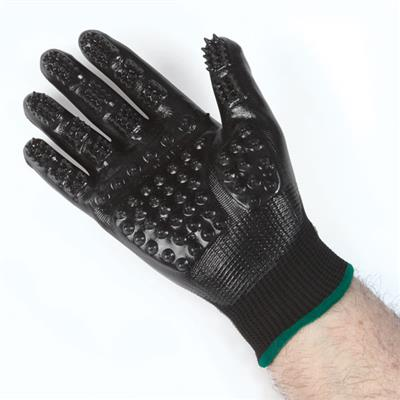 Top Performance Shed Patrol Deshedding Grooming Gloves