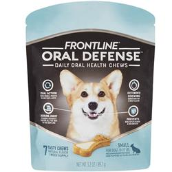 Frontline Oral Defense Daily Oral Health Chews for Small Dogs - 10-25 lbs (7 count)