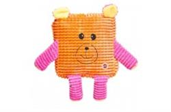 ETHICAL SPOT CALYPSO CUTIES SQUARE ASSORTED DOG TOY 7IN