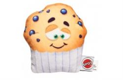 ETHICAL SPOT FUN FOOD BLUEBERRY MUFFIN DOG TOY 4IN