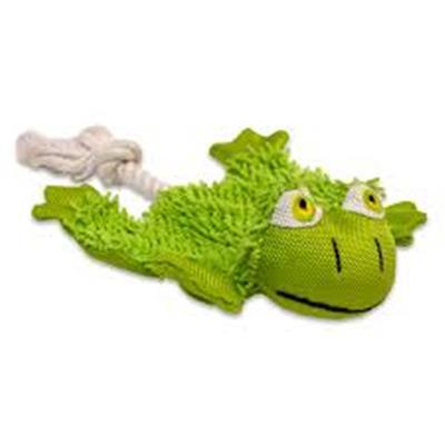 PETLOGIX Little Barks XS Cozy Krinkle Frog
