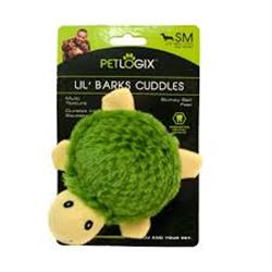 PETLOGIX Little Barks XS Turtle Bumpy Ball