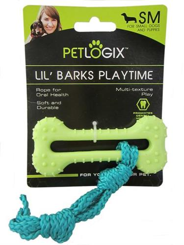 PETLOGIX Little Barks Rope Bone