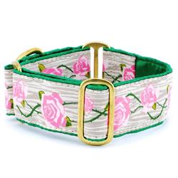 Roses Satin Lined Collars & Leads
