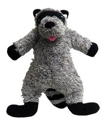 Fluffy Raccoon Plush Toy with Fabtough