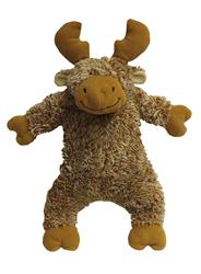 Fluffy Moose Plush Toy with Fabtough