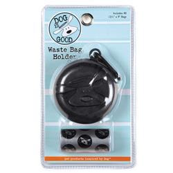 Dog Is Good Bolo Waste Bag Holder Black