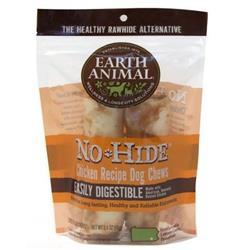 Earth Animal No-Hide Chicken Chews - 2 Pack (2.4 oz)