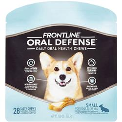 Frontline Oral Defense Daily Oral Health Chews for Small Dogs - 10-25 lbs (28 count)