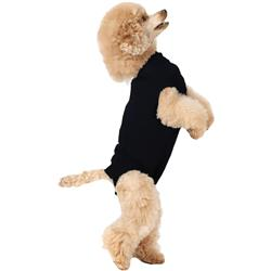 Suitical Recovery Suit for Dogs Black - XSmall