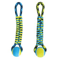 Paracord Rope Twisted Tug w/Tennis