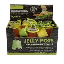 Komodo Jelly Pots Fruit 40 Count PDQ 16grams