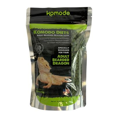 Komodo Diets - Bearded Dragon Food 14 oz
