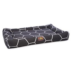 Geo Onyx Indoor/Outdoor Cuddler Bed