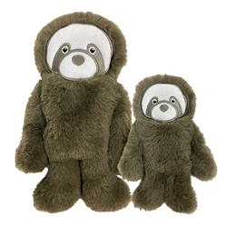 "Fuzzy Tuffies Sloth Toy (6"" and 9.5"")"
