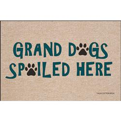 Grand Dogs Spoiled Here - Doormat