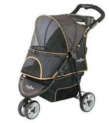 GEN7PETS REGAL PLUS PET STROLLER GRAY SHADOW