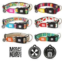 Max & Molly ISO Neoprene Smart ID Collar & Leash Package