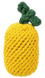 "Pineapple Rope Toy 8"" (one size)"