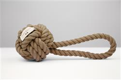 Hobie Taupe Rope Toy