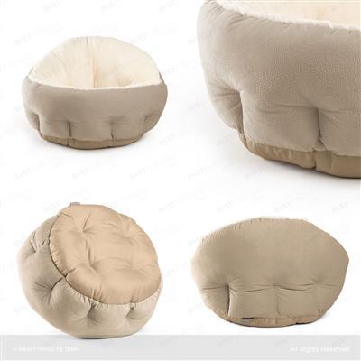 Wheat - Ilan OrthoComfort Deep Dish Cuddler