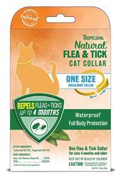 TROPICLEAN NATURAL FLEA & TICK BREAKAWAY CAT COLLAR