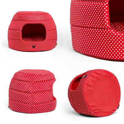 Disney™ Minnie Dots Honeycomb Red 2-in-1 Bed