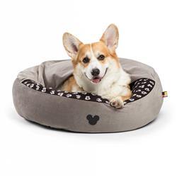 Disney™ Mickey Bobble Cozy Cuddler Bed - Grey