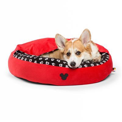 Disney™ Mickey Bobble Cozy Cuddler Bed - Red