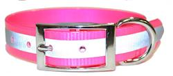 Pink SunGlo Reflective Collars
