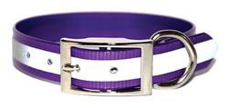 Purple SunGlo Reflective Collars