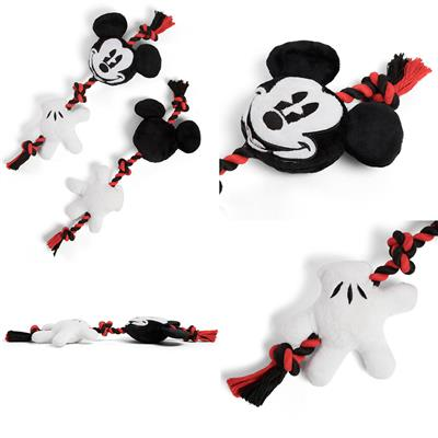 """Disney™ Mickey and Glove Sliding Rope Toy - 17"""""""