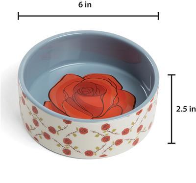 Disney™ Belle Rose Ceramic Bowl
