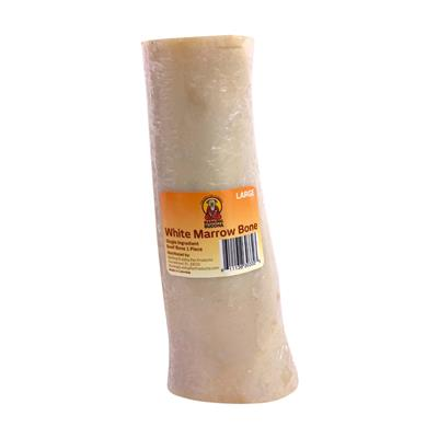 White Marrow Bone Large  Wrapped