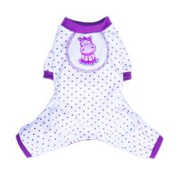 Hippo Pajamas - Purple