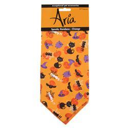 Aria Spooky Bandana, Orange