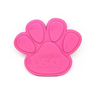 SodaPup Nylon Paw Shaped Ultra Durable Dog Chew Toy for Aggressive Chewers, Guaranteed Tough, Non-Toxic, Reduces Boredom and Problem Chewing, Made in USA, Pink, Large