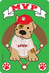 """MVP"" Most Valuable Pooch Crunch Card"
