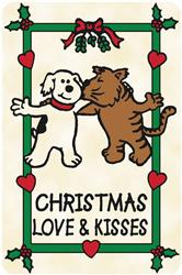 Crunch Card - Christmas Love & Kisses