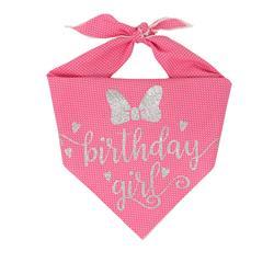 Happy Birthday Girl! Birthday Dog Bandana     Birthday Girl Dog Bandana   BUY 10 GET 1 FREE