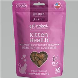 GET NAKED CAT GRAIN-FREE KITTEN HEALTH TREAT 2.5 OZ.