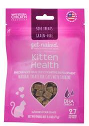 GET NAKED CAT GRAIN-FREE KITTEN HEALTH TREAT 2.5 OZ.