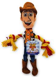 DISNEY Toy Story 4 Woody w/ Rope DOG TOY!
