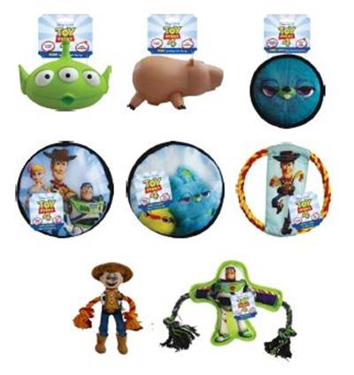 DISNEY TOY STORY 4 DUCKY & BUNNY SQUEAKY DISC DOG TOY! 30% OFF. NOW JUST $3.85 EACH!