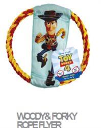 DISNEY TOY STORY 4 ROPE FLIER WITH WOODY AND FORKY 30% OFF! NOW JUST $3.85 (ALSO AVAILABLE IN 12 PIECE CLIP STRIP #50832)