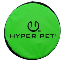 Hyper Pet™ Flippy Flopper GREEN FLYING DISC (GREEN COLOR ONLY) 9""