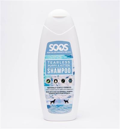 SOOS Tearless Puppy & Kitten Shampoo