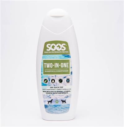 SOOS Two-in-One Shampoo & Conditioner